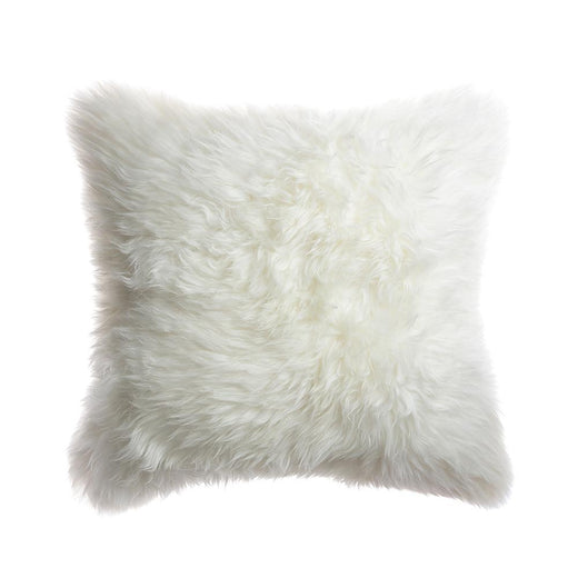 Sheepskin Square Pillow