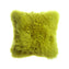Pistachio Sheepskin Square Pillow