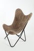 TAUPE - Shearling Butterfly Chair - Homelosophy
