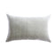 Tom Grey Woven Lumbar Pillow
