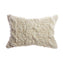 Ivory Trenzas Wool Lumbar Pillow