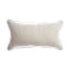 Trim Grey Merino  Square Pillow