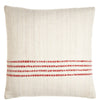 Red Striped Decorative Pillow - Chic Pillow | Homelosophy