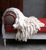 Chunky Knit Throw - Clouds Throw Blanket | Homelosophy