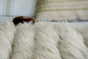 Sheepskin Throw - Full Striped Lambskin Throw | Homelosophy