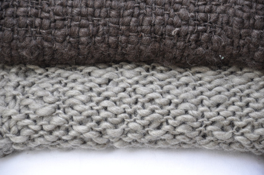 Knit Throw Blanket Penelope Grey Throw Homelosophy