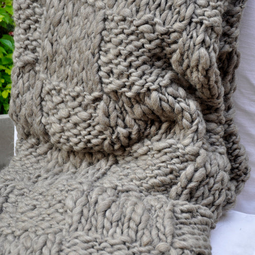 Malena Thick Throw Blanket