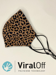 Anti Viral Animal Print Face Covering - Viraloff Technology