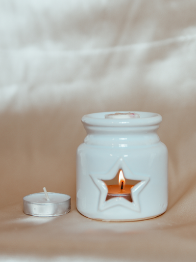 White Star Wax Melter - Wax Melt Burner