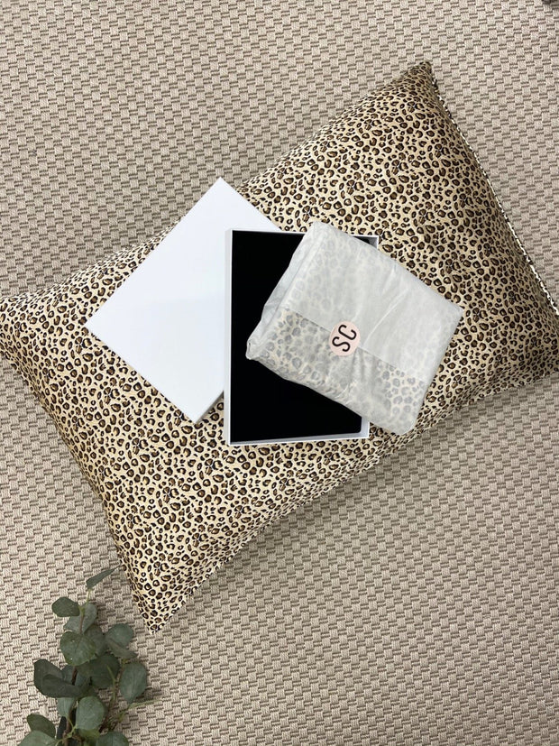 Animal Print Pillowcase 100% Mulberry Silk