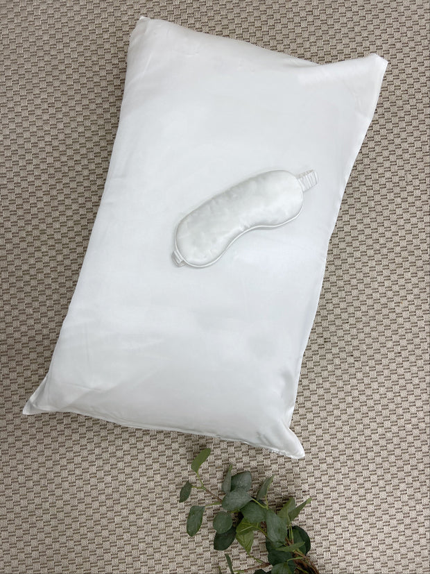 Ivory Pillowcase 100% Mulberry Silk
