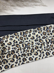 Gift Set Of Black & Animal Print 100% Mulberry Silk Face Coverings