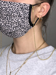 Mask Chains in Gold and Silver (2 Pack)