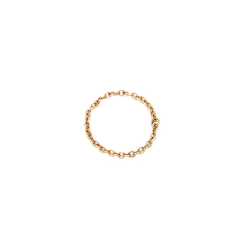 Dainty Gold Chain Ring