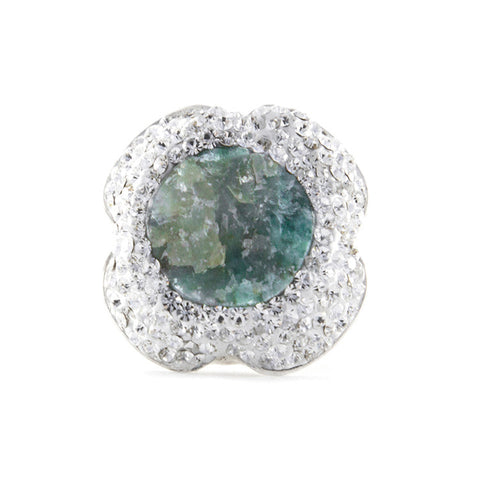 La Costa Emerald Cocktail Ring