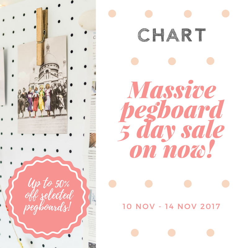 Massive Pegboard 5-day Sale!