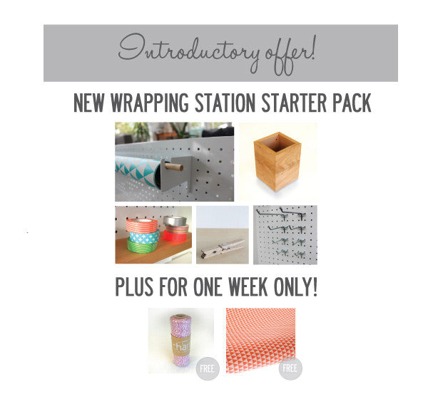 New Wrapping Station Starter Pack!
