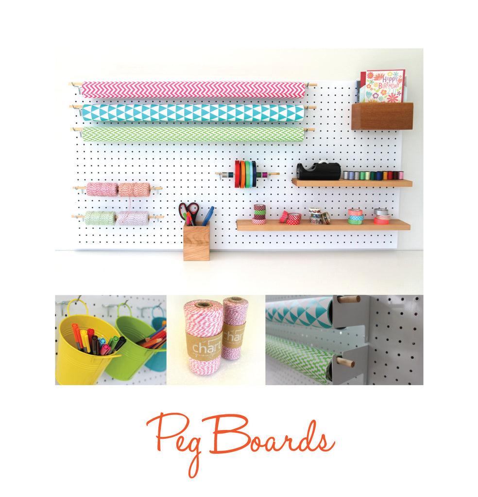 Chart introduces new Peg Board range!
