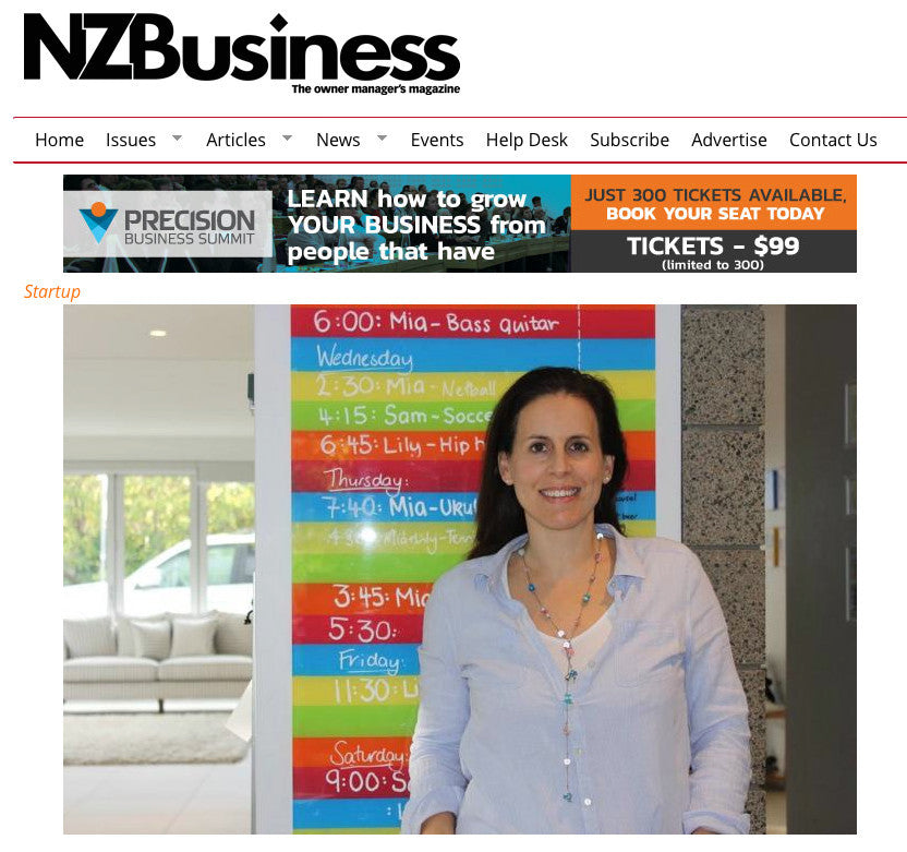 Article in NZ Business Magazine