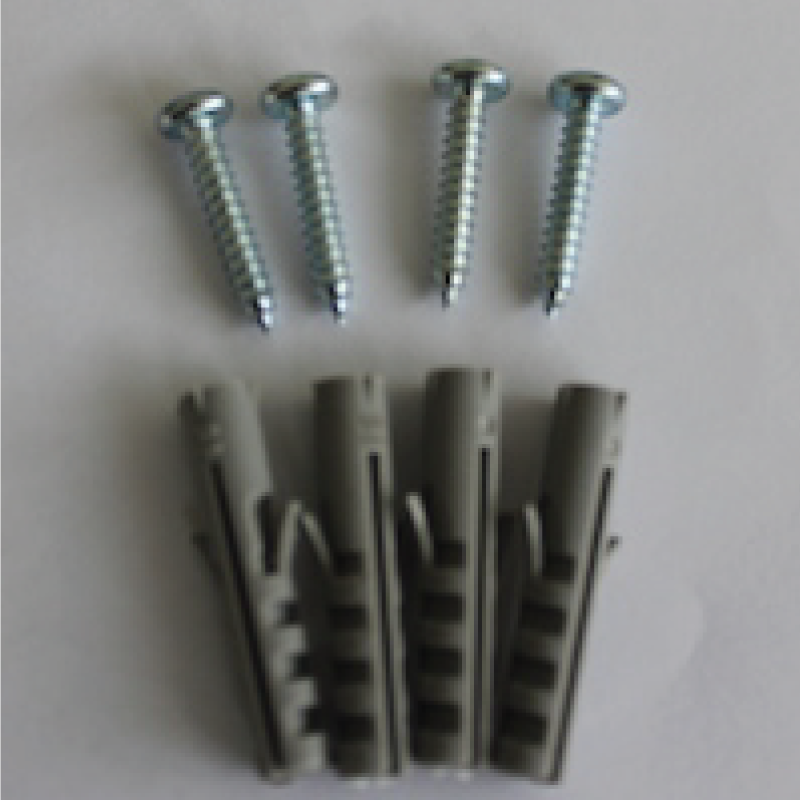 Screws and wall plugs