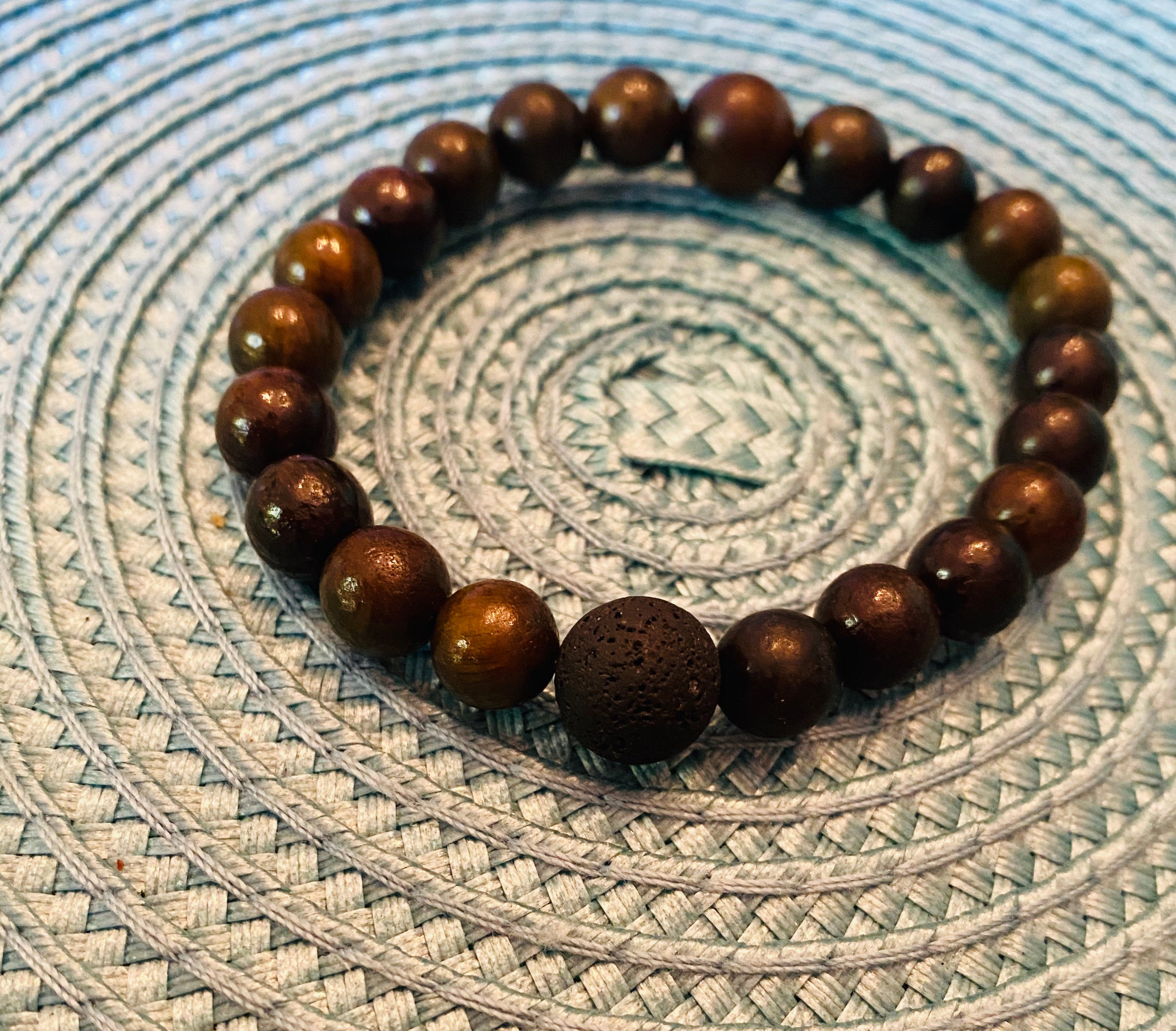 Rosewood Stacking Bracelets