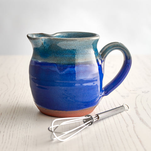 Salad Dressing Jug - Deep Sea Blue