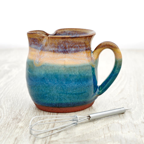 Salad Dressing Jug - Sand Bay