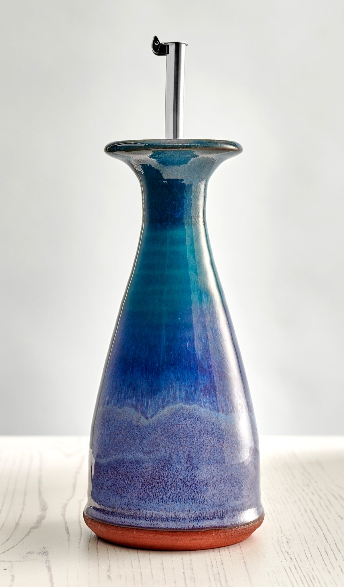 *SPECIAL* Slight Seconds Large Olive Oil Cone Decanter - Highland Heather