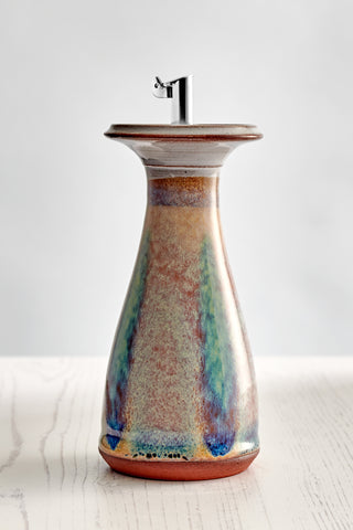 Medium Olive Oil Cone Decanter - Sand Dune
