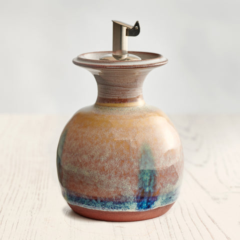 Small Olive Oil Decanter - Sand Dune