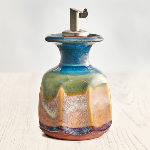 Small Olive Oil Decanter - Summer Tide