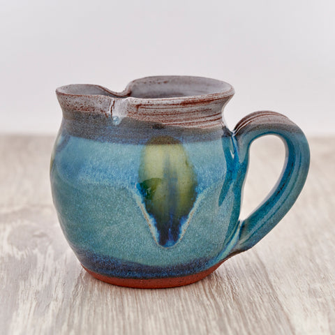 Mini Jug - Peacock Feather