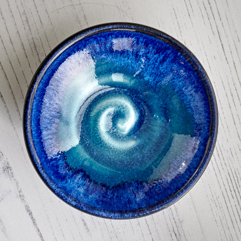 Mini Tapas Plate Deep Sea Blue
