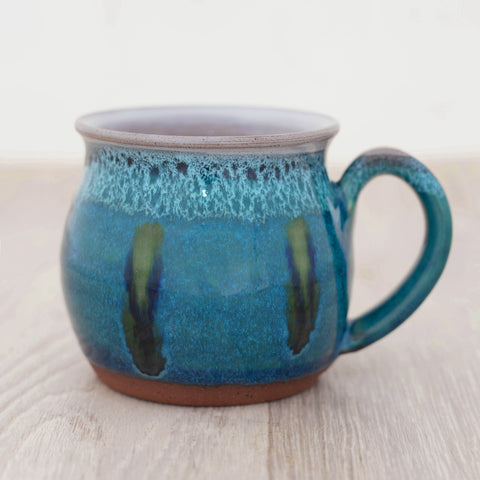 Mug - Peacock Feather
