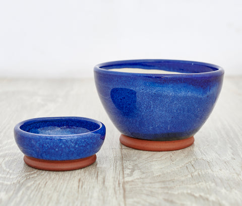 Olive & Stones Bowl in Blue