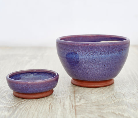 Olive & Stones Bowl in Purple