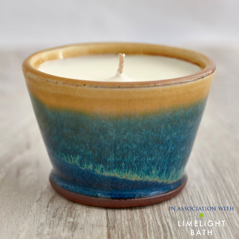 Rosemary and Bay Scented Candle - Sand Bay