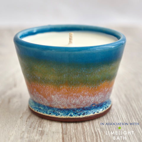 Rosemary and Bay Scented Candle - Summer Tide