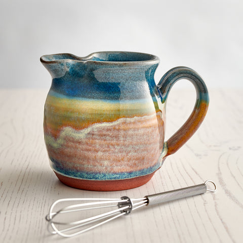 Salad Dressing Jug - Summer Tide