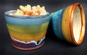 The Pair of Snack Bowls - Sand Bay & Summer Tide