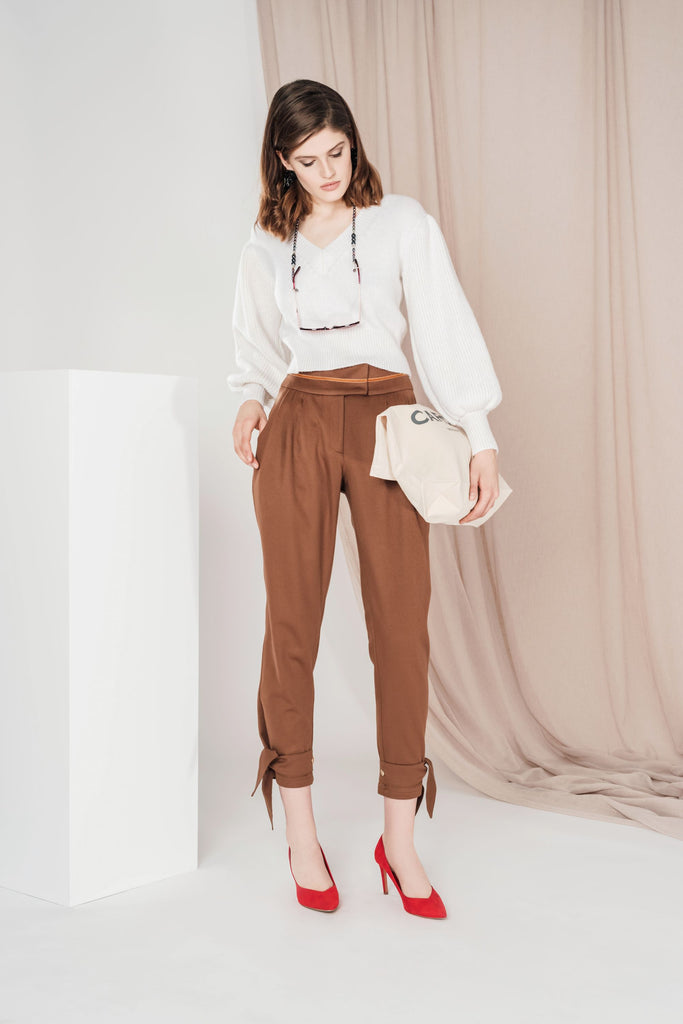 CASHMERE CASUAL CHIC PANTS