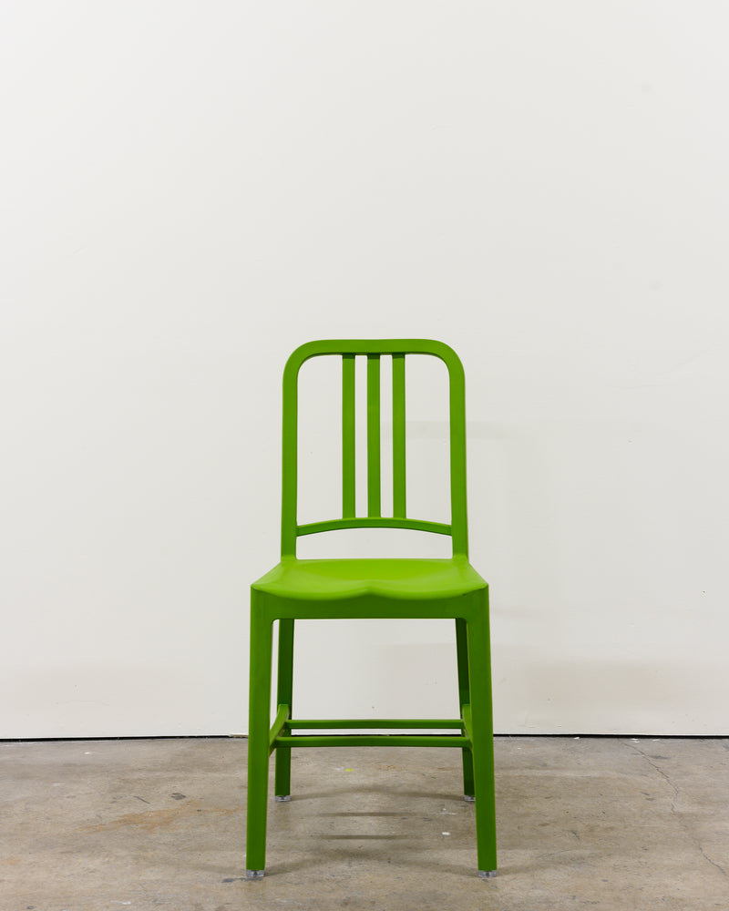 111 Navy Chairs, Demo