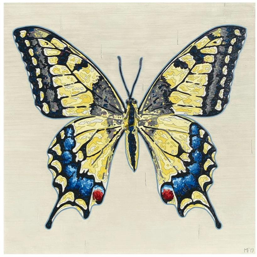Butterfly Artwork, Swallowtail
