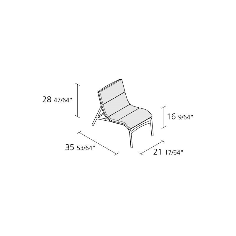 Armframe Soft Outdoor Chair