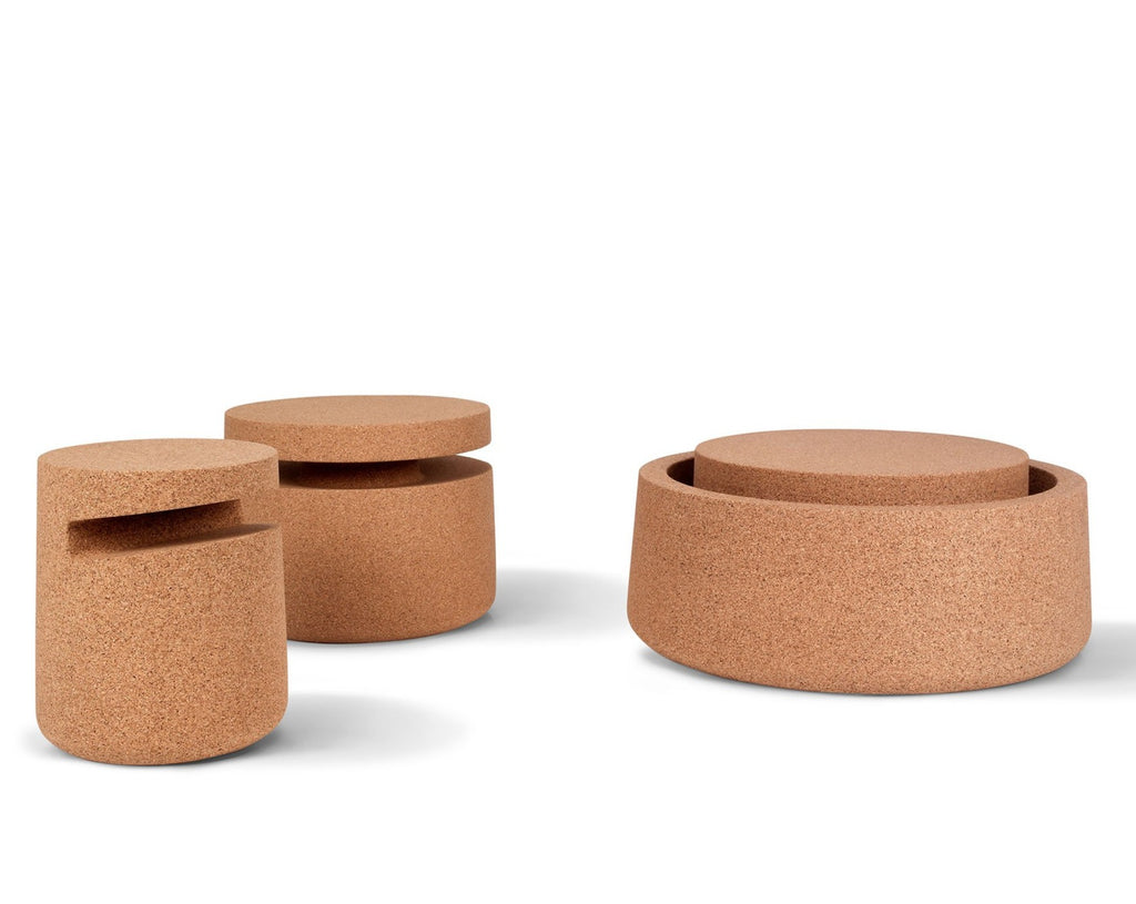 Cork Side Tables