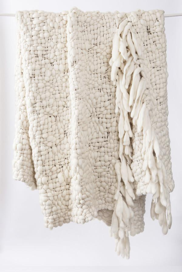 Big Cloud Organic Merino Wool Throw