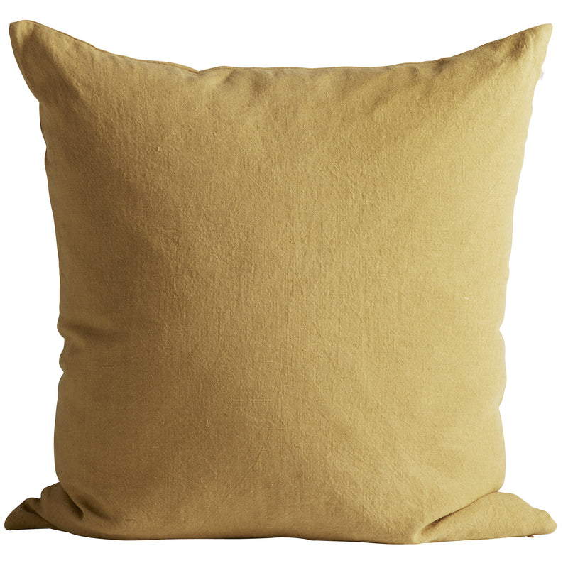 Linen Cushion, Curry