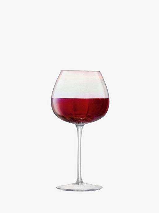 Pearl Red Wine Glass x 4