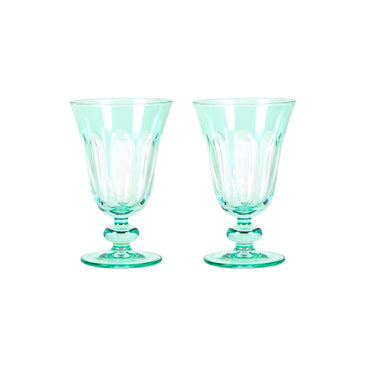 Rialto Glass Tulip Glass, Menthe