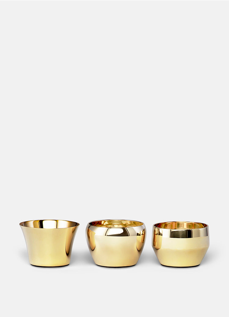 Kin Tea Light, Brass